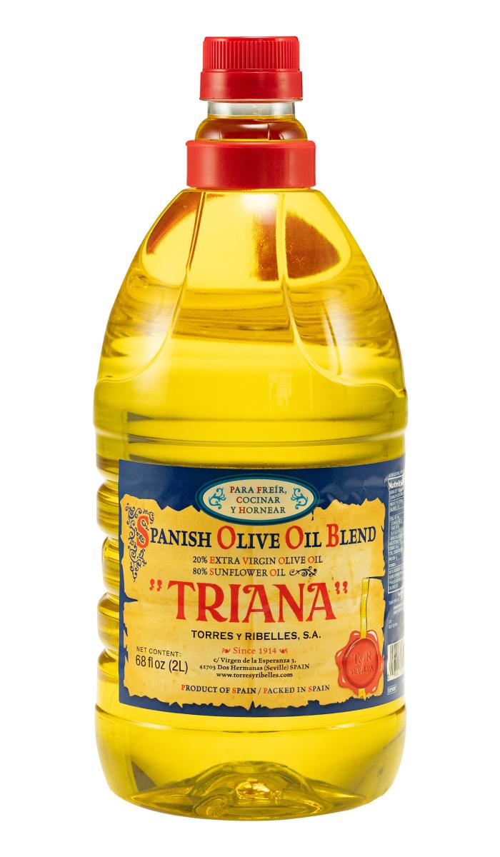 Caja de 6 botellas PET de 2 L de aceite