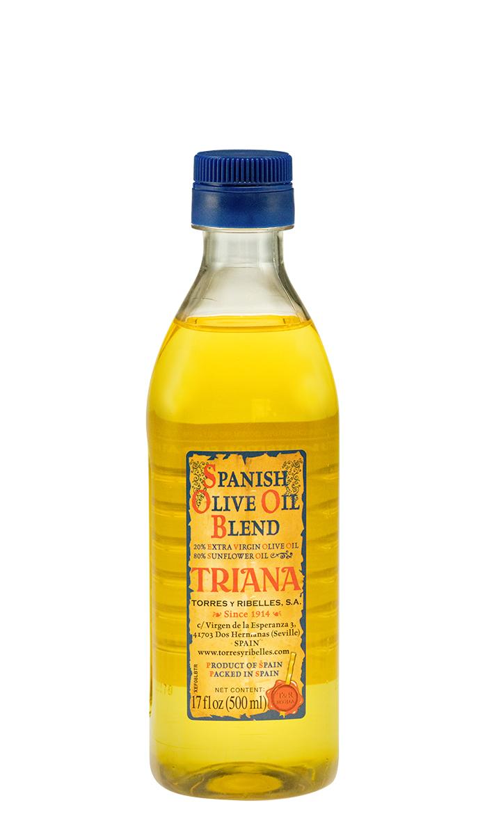 Case of 12 PET bottles of 500ml of TRIANA 'Spanish Olive Oil Blend'
