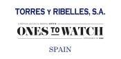"Torres y Ribelles S.A. nominated for ""The Award for International Expansion"" by the European Business Awards."