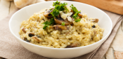 RISSOTTO OF MUSHROOMS AND CHICKEN