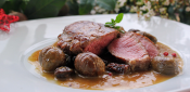 TENDERLOIN OF VEAL IN SAUCE OF CHESTNUTS