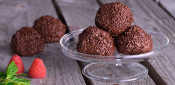 CHOCOLATE TRUFFLES WITH OLIVE OIL