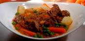 BEEF STEW WITH MUSTARD AND BRANDY