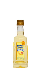 "Caja de 12 botellas PET de 12 fl oz (355 ml) de aceite de oliva BETIS ""sabor Extra Light"""