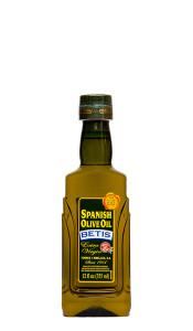 Caja de 12 botellas PET  12 fl oz (355 ml) de aceite de oliva virgen extra BETIS