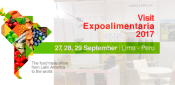 See you Expoalimentaria Peru 2017!